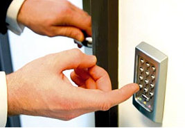 Effective ways to control who enters a building. Call 0413 006707